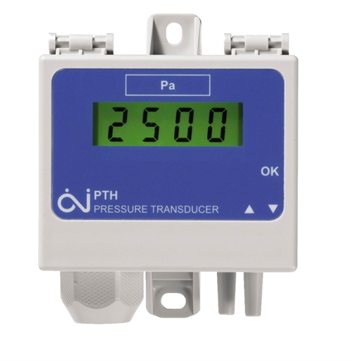 Pressostat differens med display